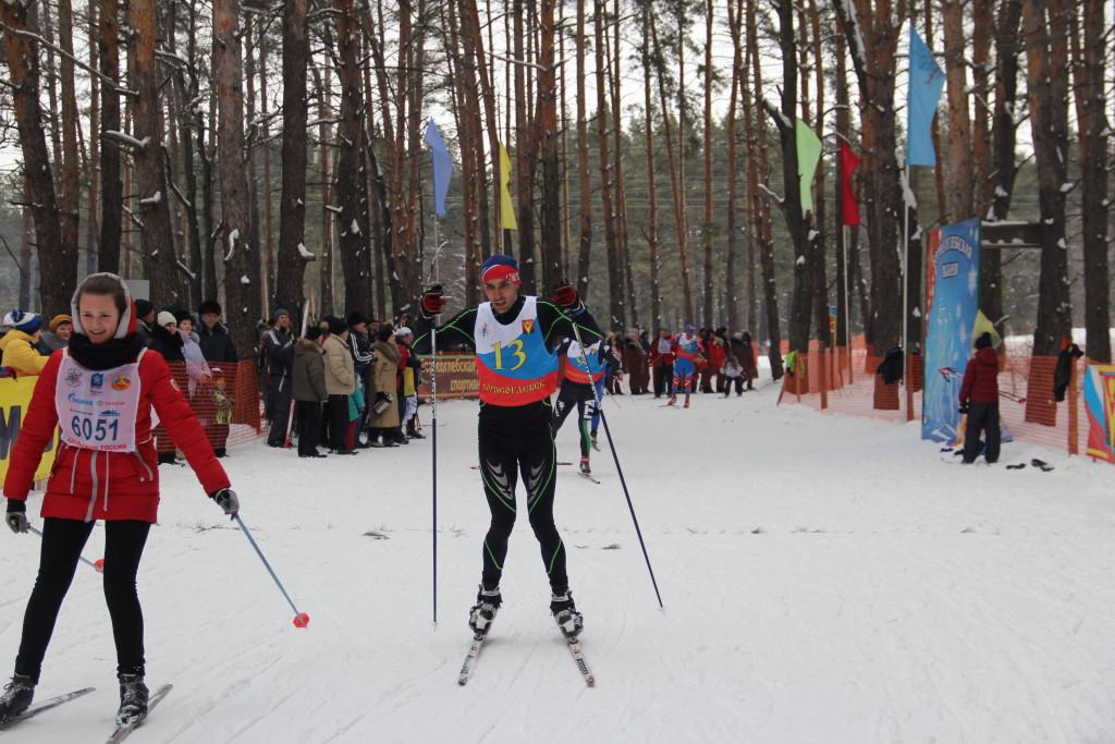Лыжные гонки на кубок главы админ БГО ВО 198