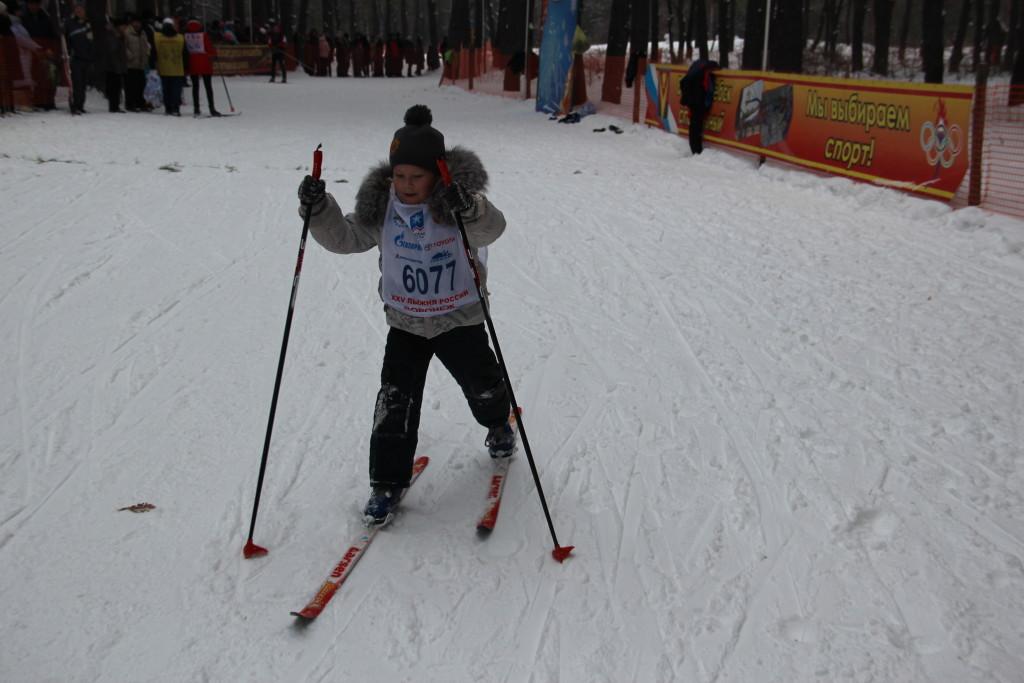 Лыжные гонки на кубок главы админ БГО ВО 209