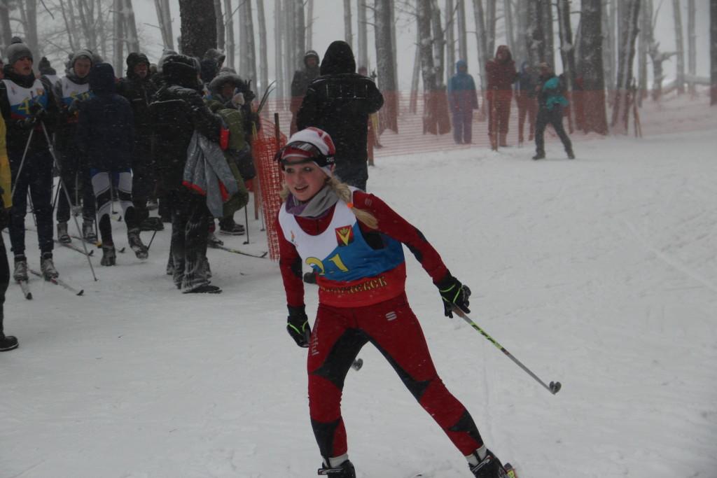 Лыжы ГТО 2017 200
