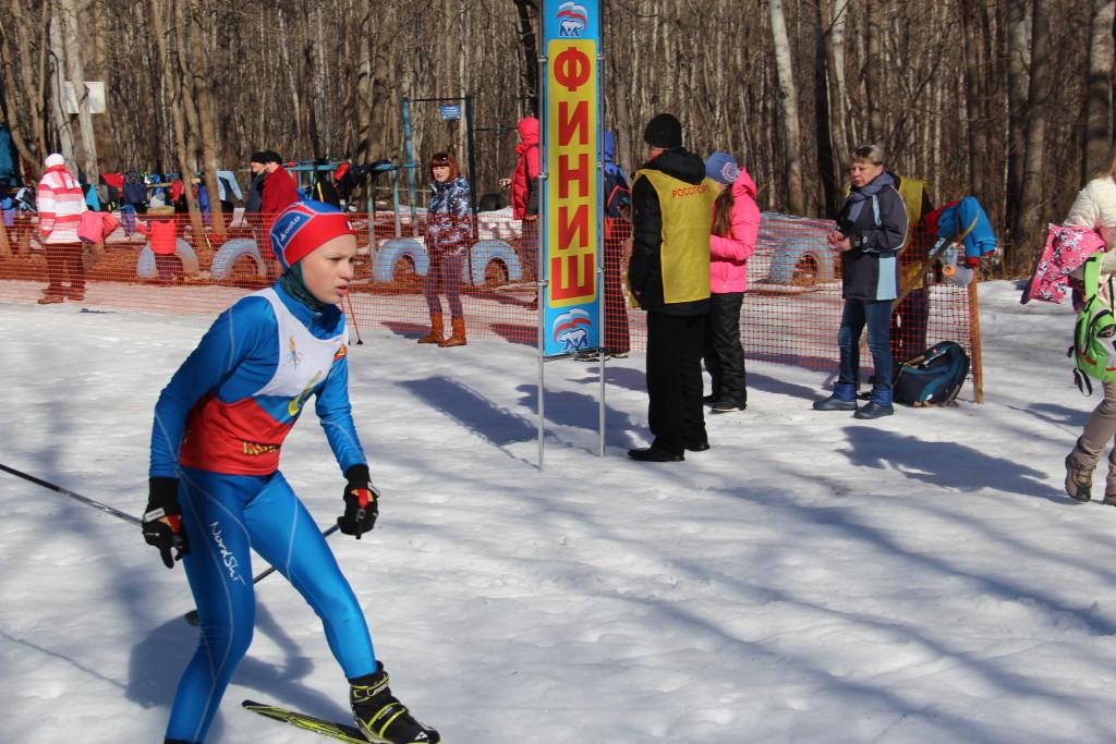 Лыжи Закрытие сезона 150