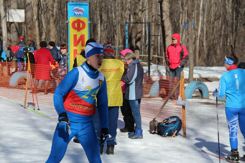 Лыжи Закрытие сезона 160