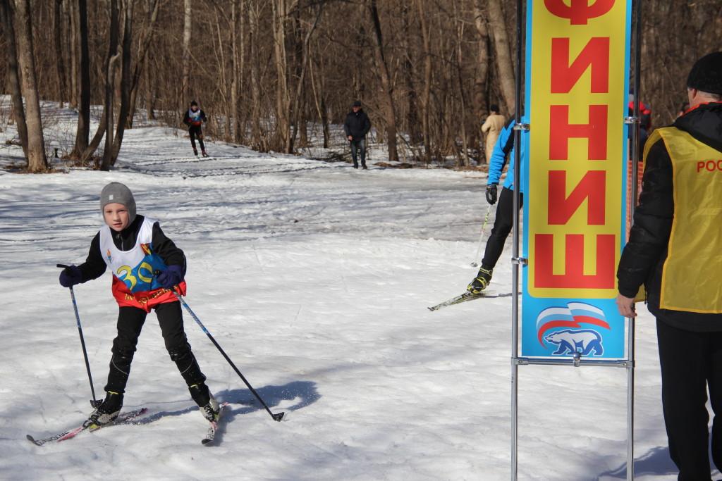 Лыжи Закрытие сезона 180