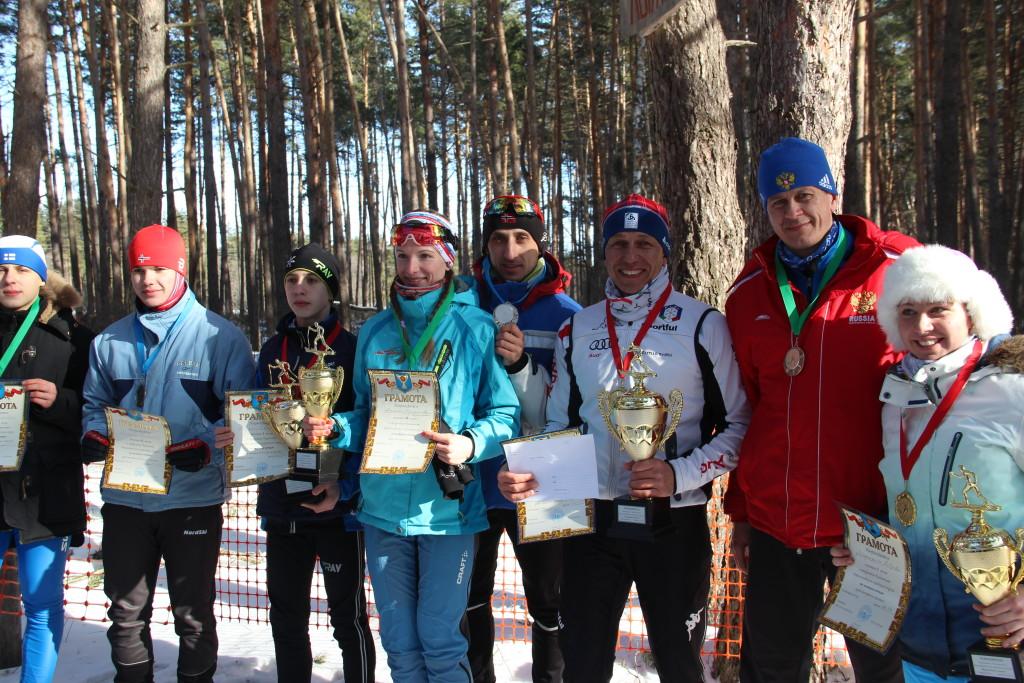 Лыжи БГО 122